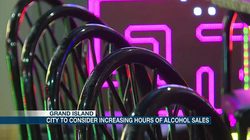 Grand Island to consider increasing alcohol sale hours