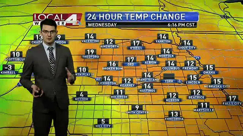 Kit's Wednesday 6pm forecast