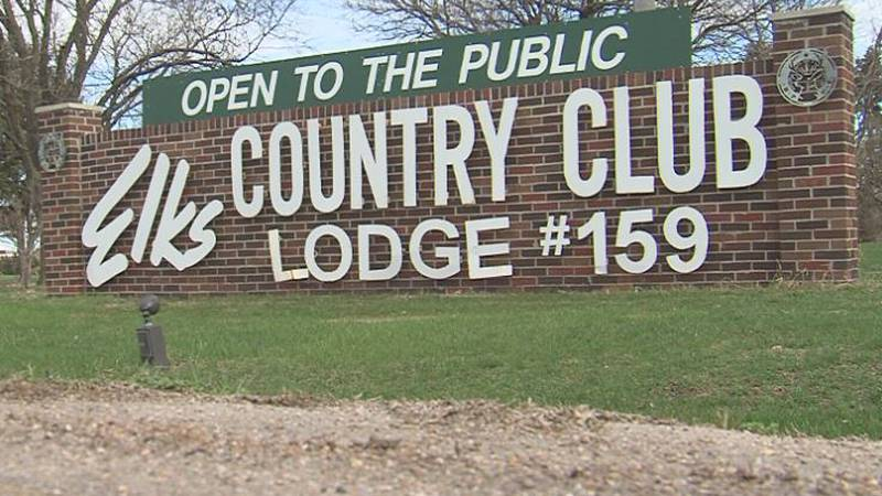 Elks Country Club Golf Course remains open for golfers.