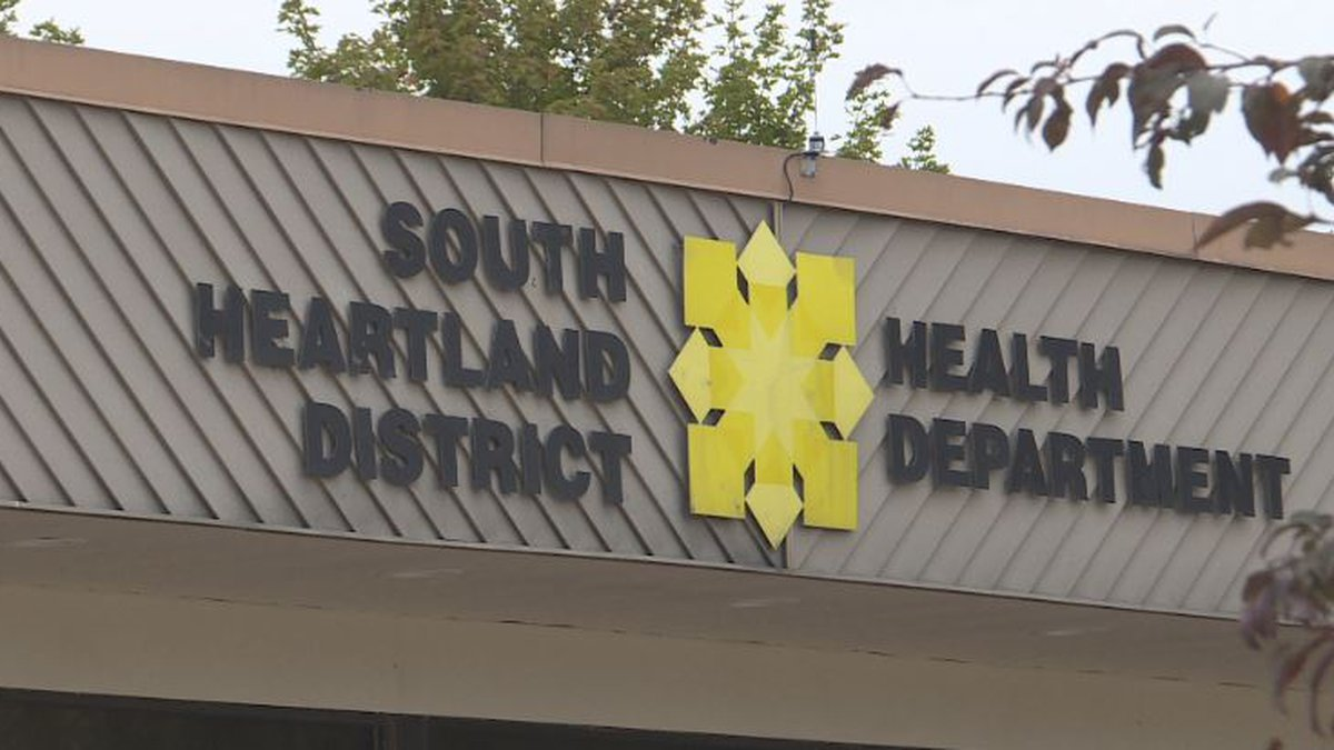 South Heartland Health reports hospitalizations down in the four-county district.