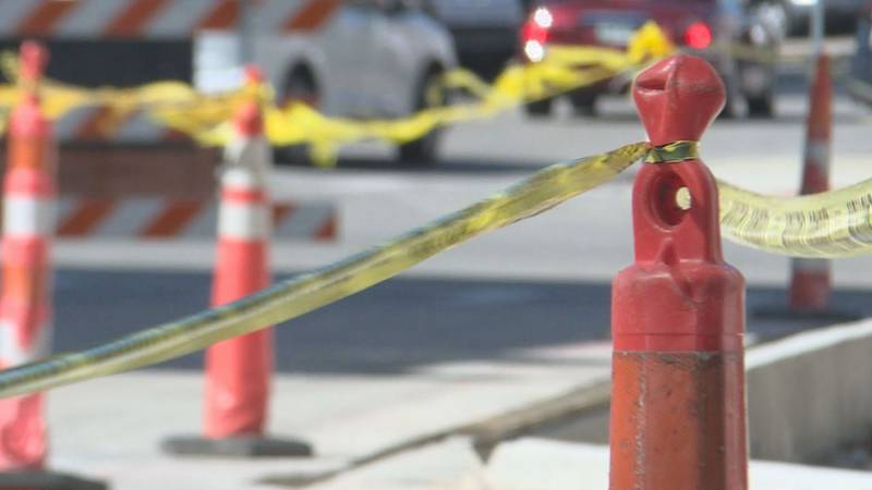 North Road Paving Improvement Project continues in Grand Island.