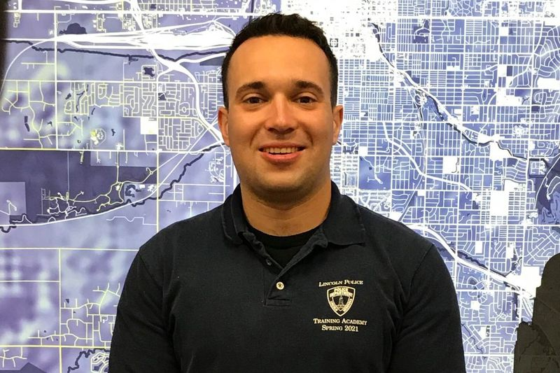 Carlos Herrera is a recruit in the LPD training academy.