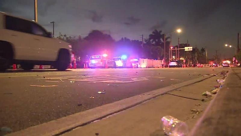 Authorities say a driver slammed into spectators at the start of a Pride parade in South...