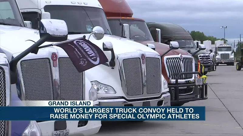 Special Olympics fundraiser held, World's Largest Truck Convoy