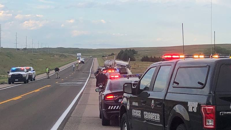 The Lincoln County Sheriff's Dept. and NSP responded to a crash on Highway 83 on Tuesday.