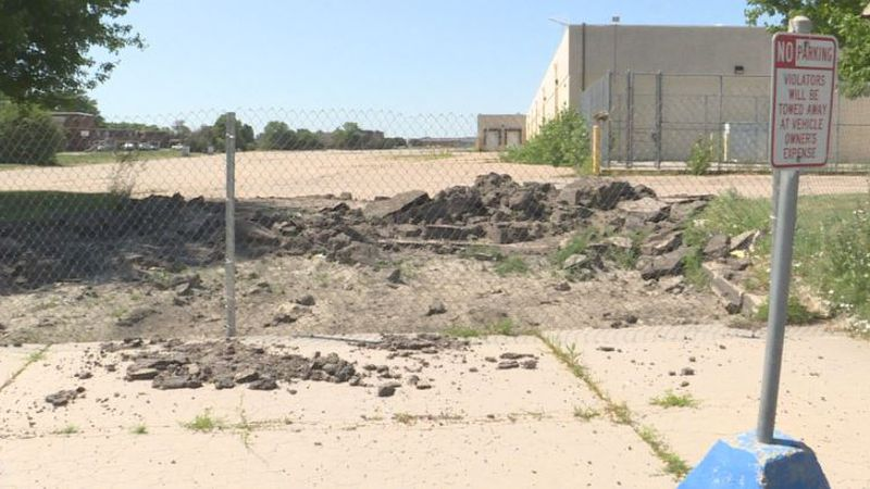 Phase one is on schedule for the old Hastings mall area