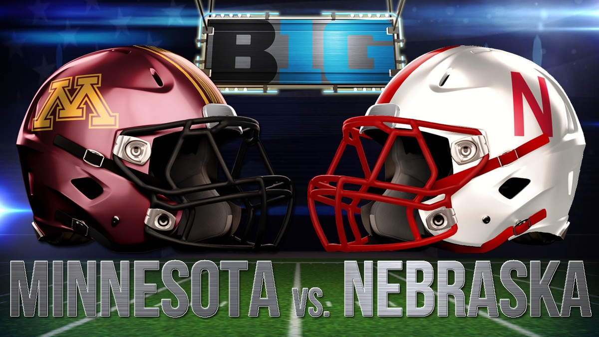 Saturday's football game against Minnesota will kick off at 11 a.m. CT.