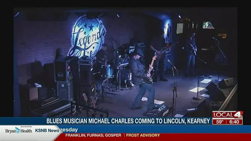 Grammy elected blues musician Michael Charles stops by to talk upcoming tour dates.