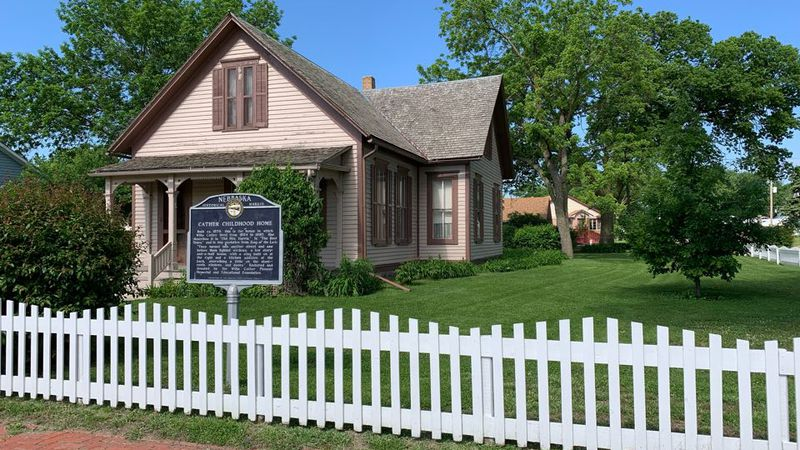 Willa Cather's childhood home sits in Red Cloud, where the annual Spring Conference for the...