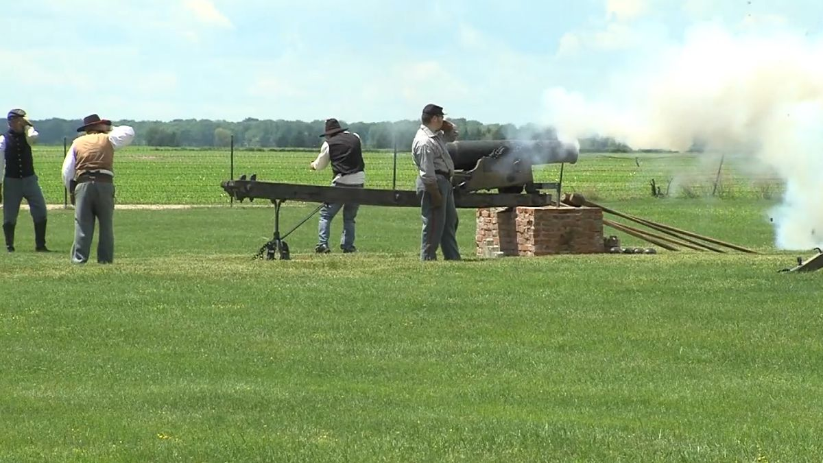 Image taken from 2017 from a Living History event at Fort Kearny State Recreation Area and...
