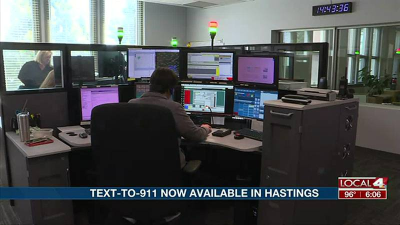 The Hastings Police Department can now accept Text-to-911 communication.