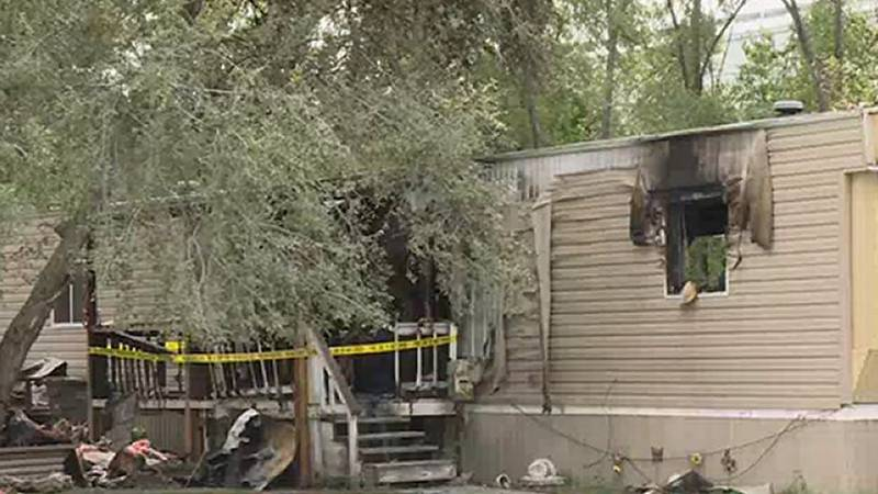 A trailer home suffered significant damage   following a fire in Grand Island Sunday.