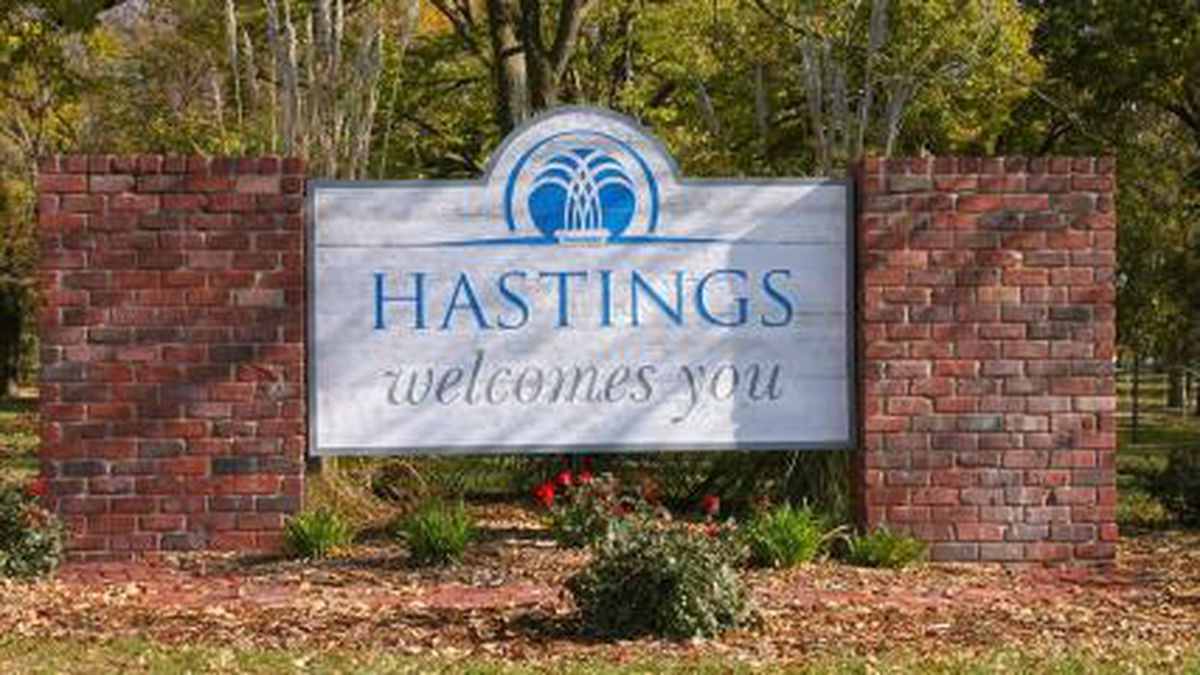 Despite the sign, some city buildings in Hastings will be closed again because of COVID-19.