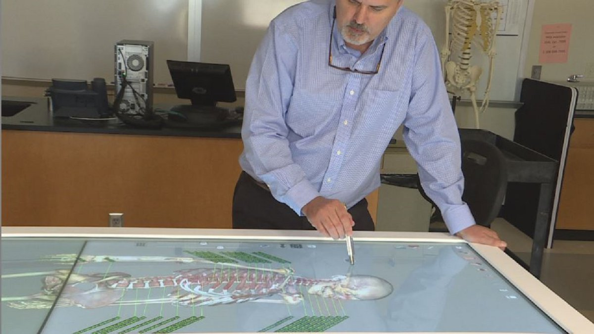 Central Community College - Grand Island instructors introduces Anatomage Table to their...
