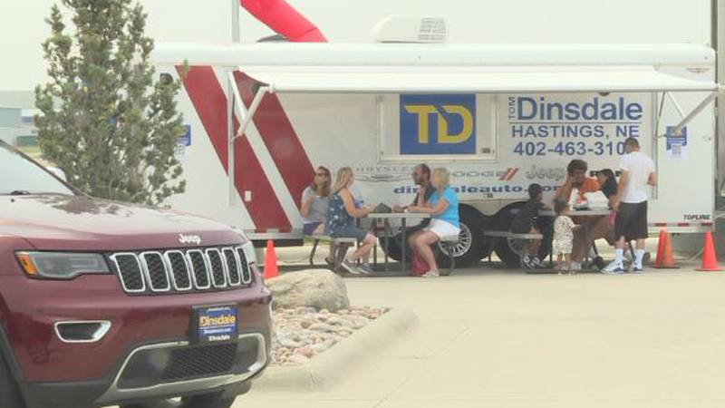 Tom Dinsdale Automotive in Grand Island hosted its first-ever Food Truck Rally.