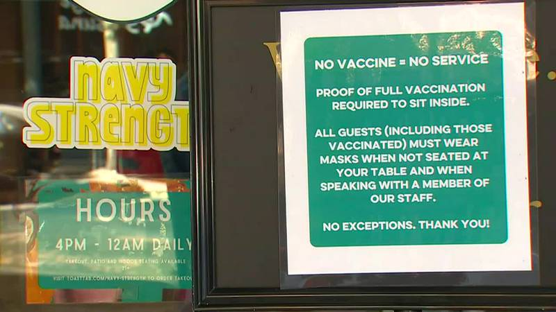 Several Seattle establishments are requiring proof of vaccination before you can be served.