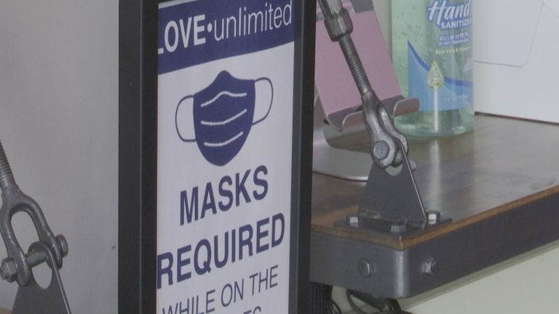 Churches follow mask requirement in Grand Island.
