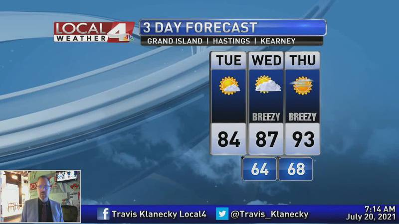 Hotter temperatures only days away.